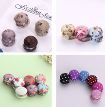Magnetic brooches magnetic buckle clothing accessories wholesale Brooches Magnet 12pcs/lot Muslim Headscarf Hijab Pin Up Clips