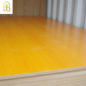China suppliers 1220*2440mm high gloss laminate furniture mdf board