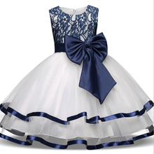 New Pattern Of <strong>Girl's</strong> Wedding <strong>Dress</strong> Sleeveless Princess Bow <strong>Dress</strong>