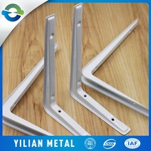 Customized wrought iron bracket for wall shelves