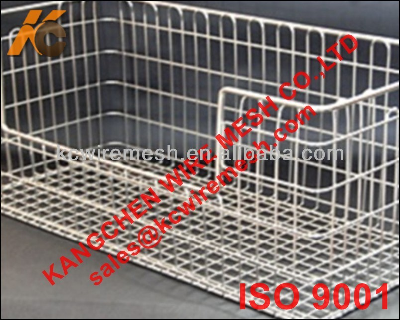 Factory!!!!!!!! KANGCHEN mesh folding wire laundry basket