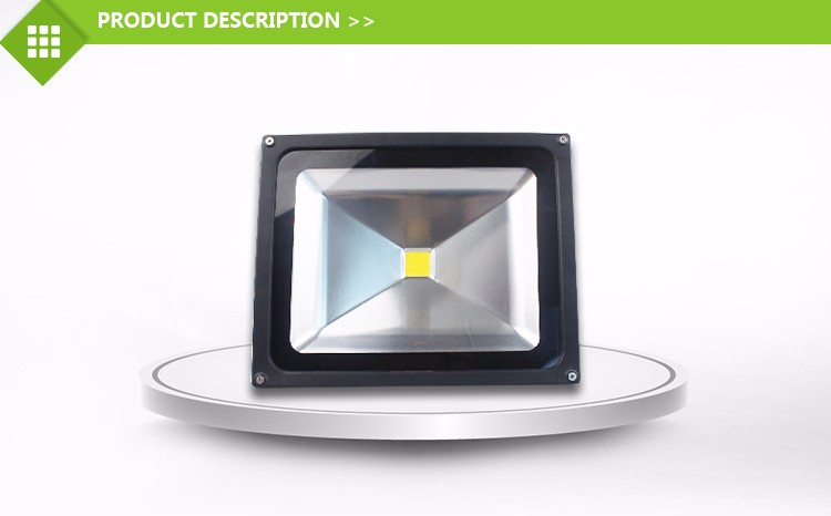Waterproof for outdoor cob ip66 ip67 led flood light 50w
