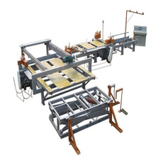 High-speed Edge Trimming and Sanding Production Line Good trimming edge banding machine/Automatic edge trimming saw