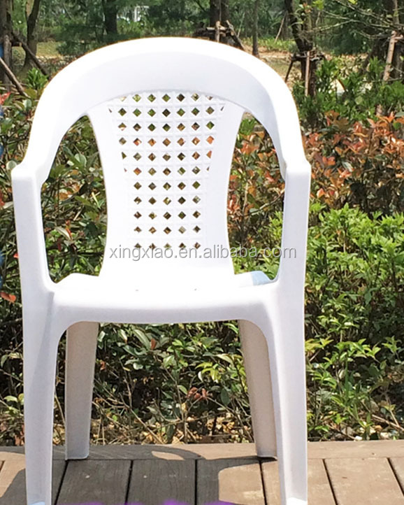Professional Plastic Adult Arm Chair with Changeable Back Insert Mold