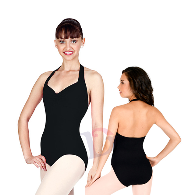 A2013 Sexy halter ballet dance & gymnastics leotards competition with low back ballet leotard