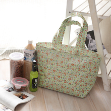 Promotional low price aluminium foil cooler bag canvas shivering extra large insulated lunch box cooler bag for frozen food