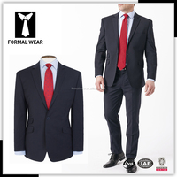 Latest fashionable slim fit professional cheap wedding suits for men
