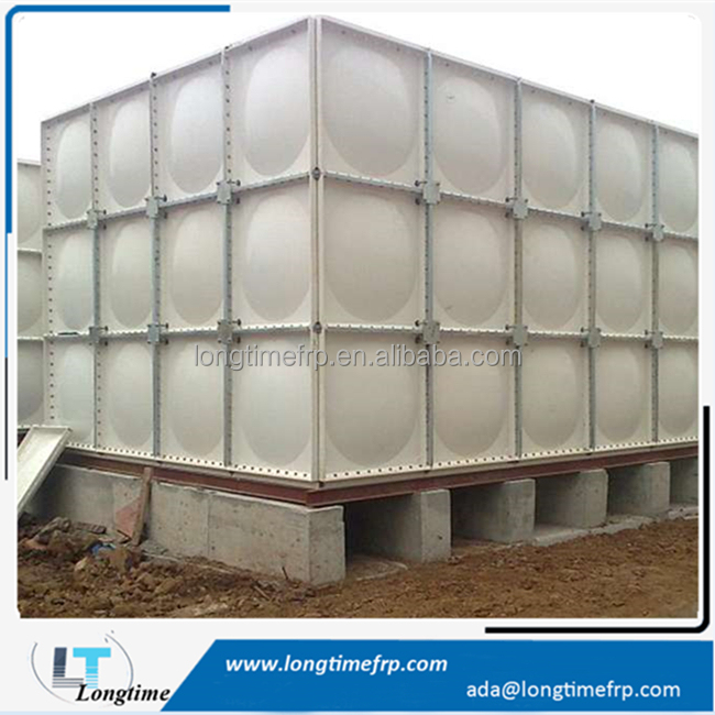 GRP SMC FRP Fiberglass Panel Sectional Water Storage Tanks