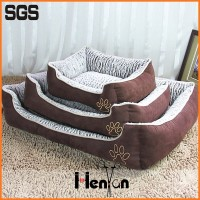 custom luxury plush boat pet dog bed