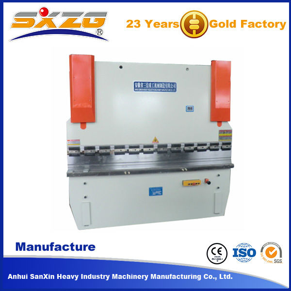 Cheap price WC67Y 30T/1600 hydraulic manual carbon steel bar bending machine