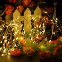 LED Copper String Lights, Warm White Colour LED Decorative String Light for Dorm Indoor Outdoor Wedding Party Festival
