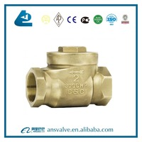 1 2 Inch Brass Dual Plate Check Valve