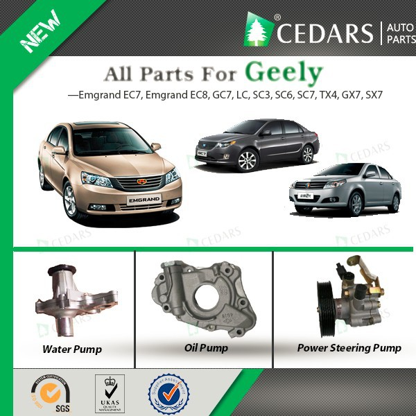 Original auto parts for Geely with Competitive Price