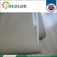 New design high quality durable pvc sponge leather for car seat cover