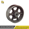 Customize the investment casting industry wheel cast steel and cast iron wheels