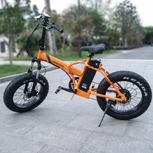 Factory price aluminum alloy frame LCD display 36v 350w mini fat boy folding e-bike with lithium battery