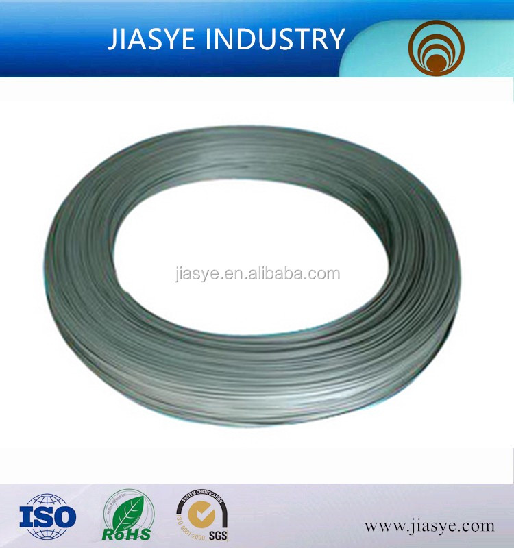ASTM A254 SPCD 10.00*0.65mm single wall inner burr cutted welded steel tube used in refrigerate evaporator