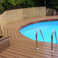 Hard and strong wpc decks floor decking composite