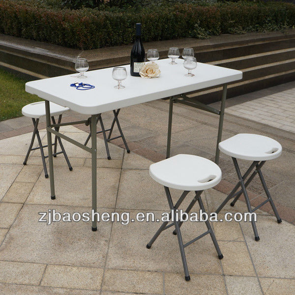 lightweight small plastic foldable restaurant table - multipurpose table