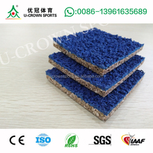 High quality spraying Permeable Rubber Runway/Running Track for Sports Stadium