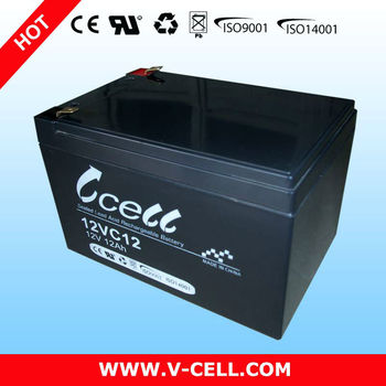 12v12ah Valve Regulated Lead Acid Battery