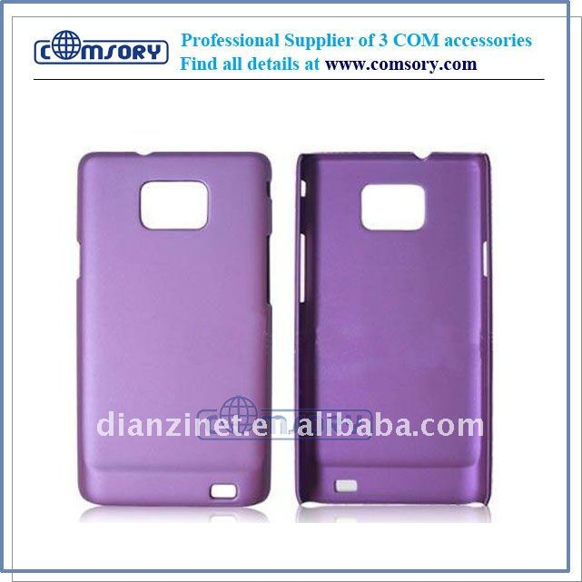 Rubberized hard case cover for samsung Galaxy S2 / I9100