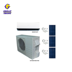 Multifunctional wholesale 12000btu/1.5hp/1ton split type condition 100% dc air conditioner by solar with high quality