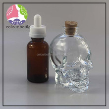 trade assurance 30ml square glass dropper bottle to be filled in perfume essence,customized joyshaker bottle.