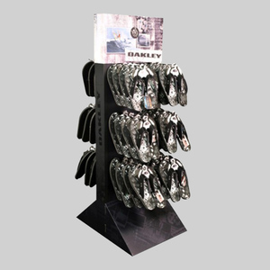 Free Standing Pegboard Hook Flip Flops Display Rack, Slipper Display Stand