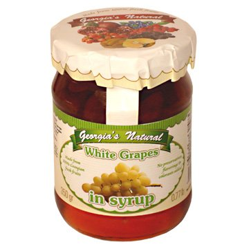 White Grapes in Syrup