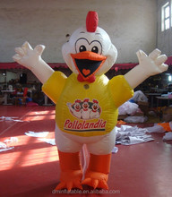 customized inflatable chicken for advertising