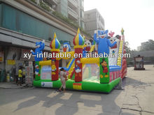 Outdoor fun city Giant inflatable kids playground