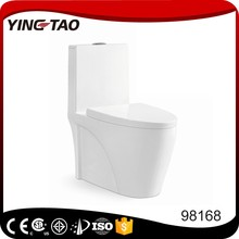 Unique design white color chinese bathroom one piece wc toilet