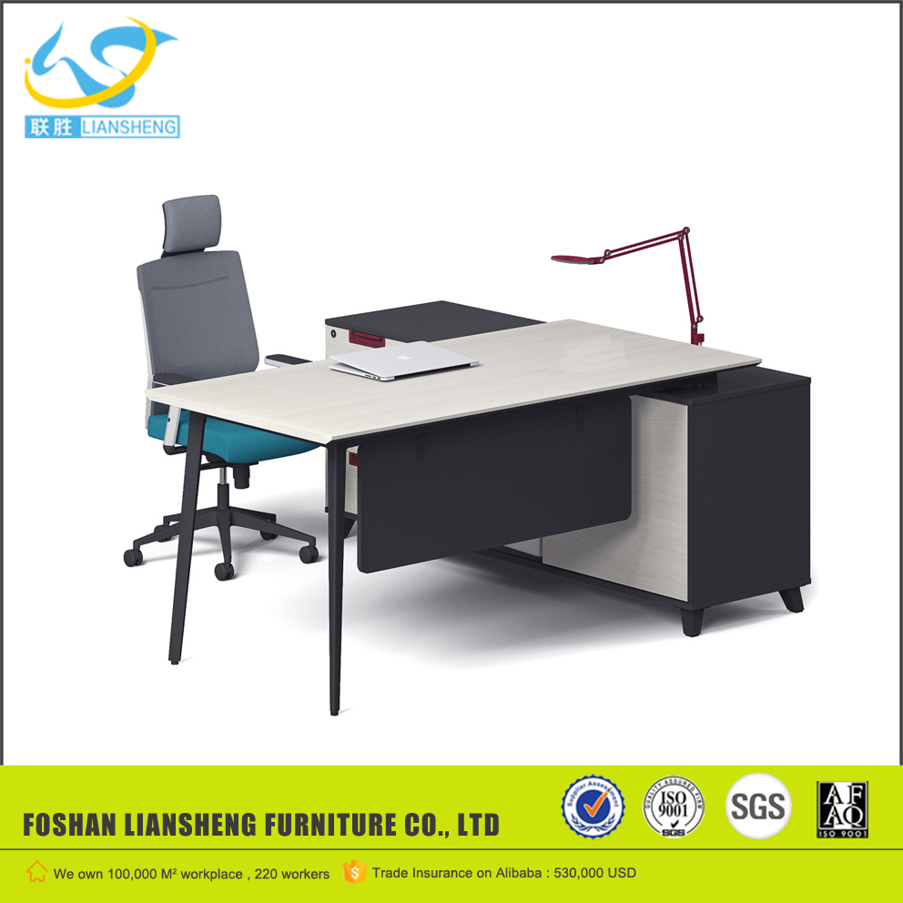 White Melamine Office Desk, White Melamine Office Desk Suppliers And  Manufacturers At Alibaba.com