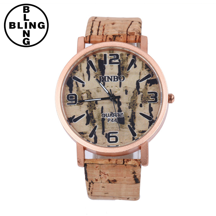 >>>2017 Fashion Imitation Men's Wooden Wrist Watches Clock Ladies Women Luxury Brand Quartz Watches For Men /