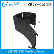 RGB outdoor led display P9.375 led curtain for advertising