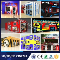 2016 Advanced 5D Home Theater 5d Cinema Simulator Equipment Virtual Reality Video Game