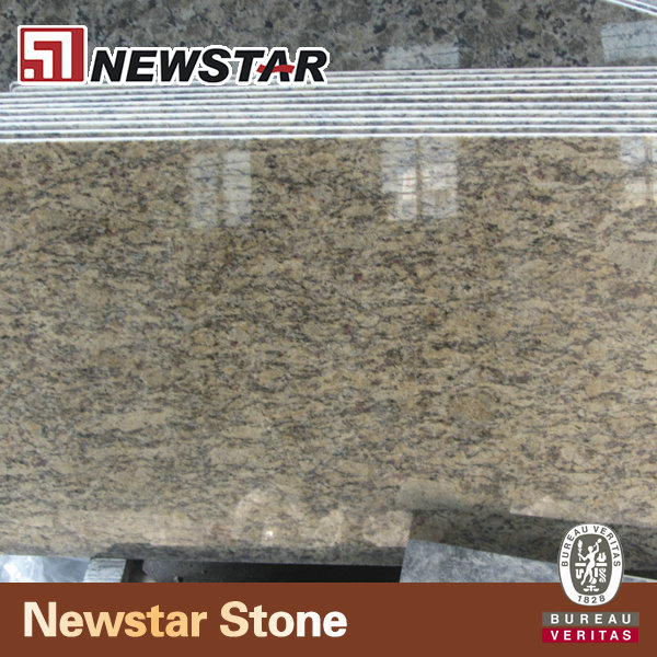 Prefabricated santa cecilia granite discount solid surface countertops