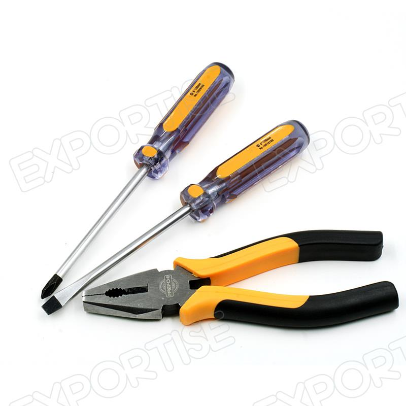 Professional 3 pcs mini hand tools sets with high quality