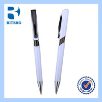 hot new products for 2014 logo wood refill machine promotional parts ballpoint pen----RTPP0054