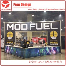Aluminum portable exhibition booth,6x6 trade show stand with full graphics