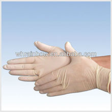 medical examination gloves latex