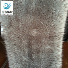 acrylic synthetic long pile faux raccoon fur for hood fabric