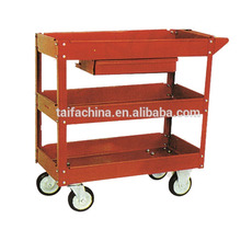 High quality metal service cart restaurant trolley made in China