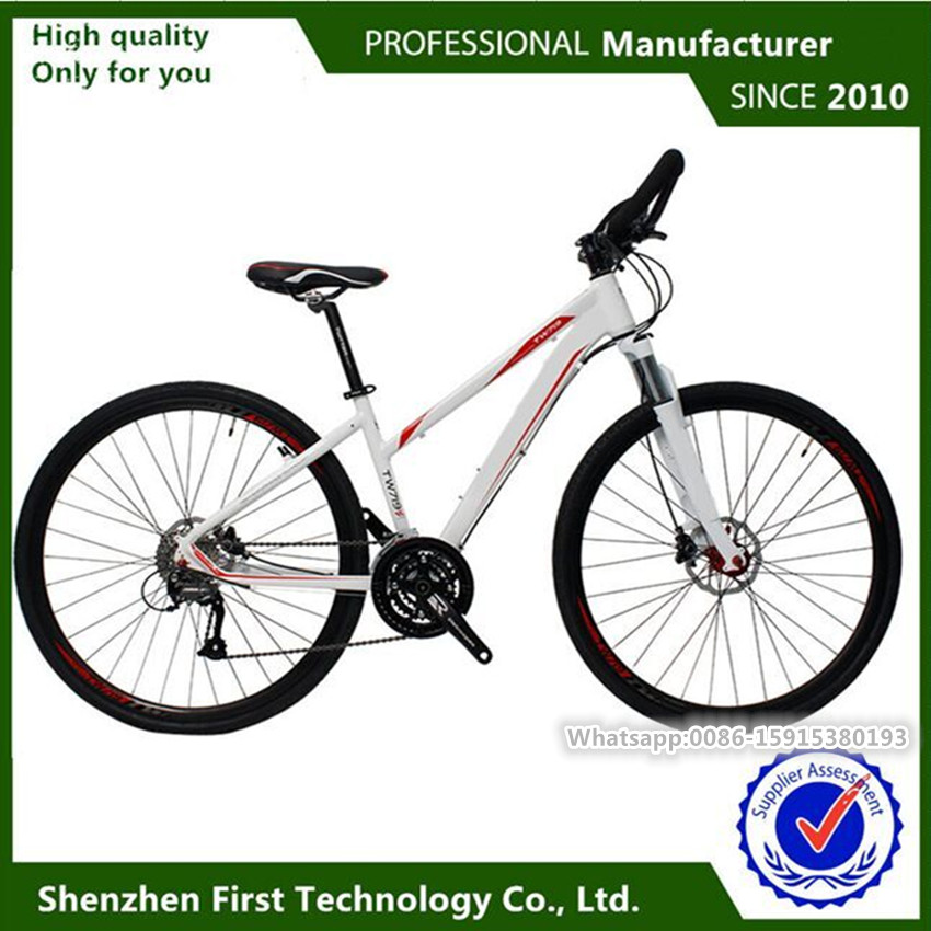 Retro fashion mountain bike 700C wheel size aluminum alloy materials road bike15.5inch and 16.5inch frame for sale