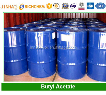 Best selling chinese supplier Butyl Acetate prices