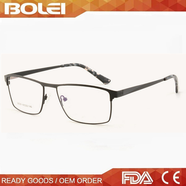 Metal fake designer eyeglasses optical frame korea