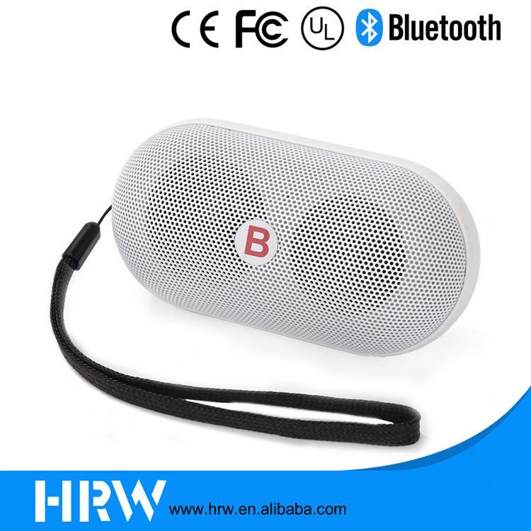 Manufacturer Hands free Small Speaker Pill Wireless Mini Bluetooth Speaker with led light
