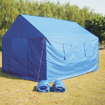 Customized Size Printed Oxford Waterproof Relief Tents For Sale