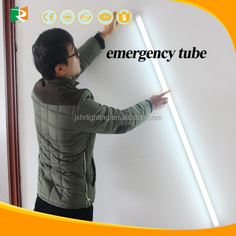 CE ROHS Europe Led rechargeable tube light with battery inside